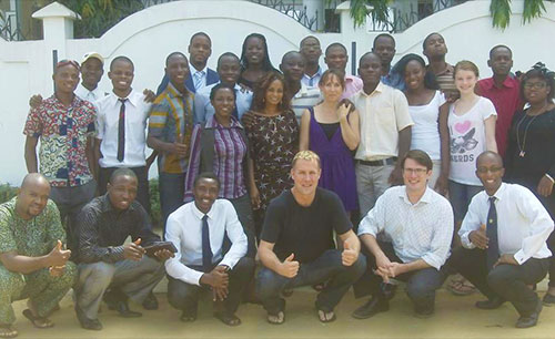 Benin, Africa: Van Duyse Entrepreneurial University – leadership training